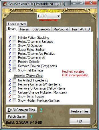 SoulSeekkor's TQ Defiler - Downloads